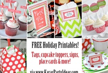 printables for parties/gifts