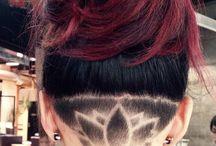 Vyholené vlasy