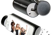 PowerSource MusicStick / The PowerSource MusicStick is an ultra-powerful portable power bank with 5200 mAh of power combined with a high quality speaker.