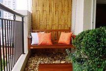 Balkóny, terasy