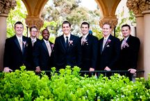 Wedding Boutonnieres / Groom and Groomsmen Boutonnieres