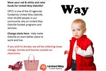 We're a Funded Agency / We are a funded agency of the United Way Oakville