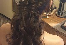 ドレス髪型