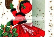 クリスマスカード クラシカル