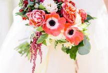 Bright floral wedding