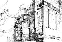 Szkice architektoniczne