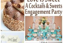Teal Country Wedding
