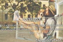 Teenage dictionary