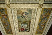 Painted Ceilings in Stately Homes / Many of these painted ceilings were executed in 18th century Great Britain.