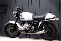 """BMW R100 (1983) Cafe racer / Morphed BMW from an original mint R100 to a """"cool old school racer"""""""
