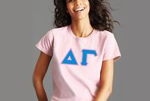 Digitally Printed Apparel / Printed shirts customized for your group from Something Greek! T-Shirts, Long-Sleeve, Crewnecks, Hoodies. No minimums required!