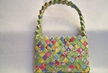candy wrapper purse / by Tomoko Tsutsui