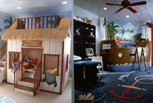 Kids room themes and ideas