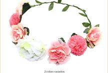 Flower Crown / いつもと違った特別な日に!花冠アレンジをしてでかけよう~!