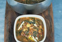 Winter Food / Hearty soups, stews and meaty dishes