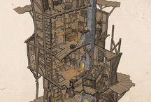 Enviroments / Buildings