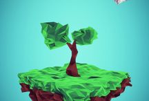 LOW POLY & ORIGAMI