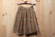 Batik tutu for little girl