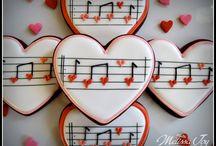sugar cookies/ music