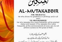 Allah beatifull names