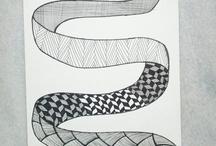 Zentangles, Zendoodles / by Inge