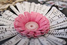 Paper crafting ideas :) / I am not near as creative or talented as my mother or sister but I can certainly dream!