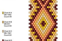 Beads - tutorials, charts, graphs / by Rebecca Starry