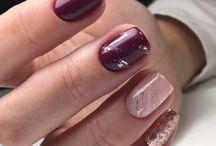 debut hiver nail art❄