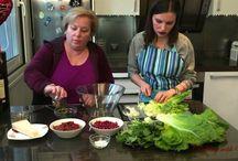 Cooking with Valenti Arugula Parmesan Salad