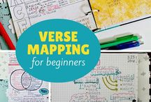 Verse mapping / Digging deeper into the Word and getting to know more of God.