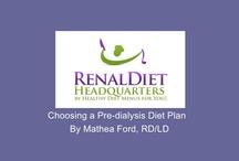 Kidney Diets