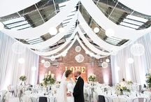 Industrial Warehouse Wedding / Harrie & Sam's cool and chic Croydon warehouse wedding.