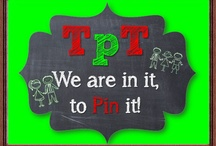 TpT We are in it, to Pin it! / Please limit your pins to one a day. Please re-pin one pin for every pin. Do not flood the board. Pins will be deleted and pinner will be removed. It is important to maintain the integrity of the collaborative board. Collaborative Board for TpT: Open to all educators to promote, sell, and share original teaching resources. All subjects. All levels. All grades. Home school. Higher Education. Lots of GIVEAWAYS! Promote your store link, CCSS, sales, blog, freebies, paid items. 1 pin a day.