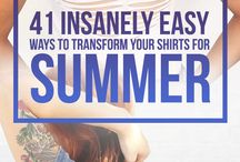Clothing easy transform tips