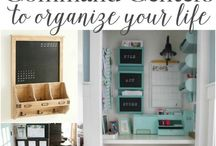FOR THE HOME: Command Center / Denver blogger {Beauty In The Mess} shares tips and tricks for the best home command center.