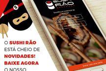 Aplicativo do Sushi Rão