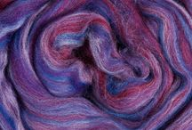 Ashland Bay Multi-colored Merino Wool / Ashland Bay's bright & vibrant Multi-colored Merino Wool dyed fiber is perfect for spinning& felting!With a micron count of 21.5 and a staple length of 70mm/2.75 inches