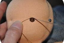 Making a cloth doll