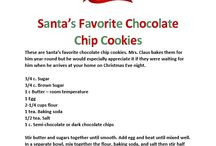 Santa's Favorite Christmas Recipes