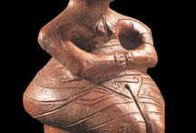 WOMAN FIGURE IN THE HISTORY
