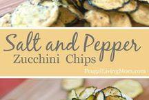 Zucchini Chips (salt & pepper)