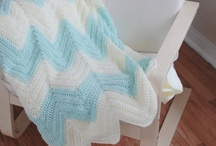 Crochet ripple afghans, blankets & throws / The ripples are more pointy and referred to as zig zag or chevron or ripples. The difference is in how it is crocheted. See my board on 'How to crochet ripples'. There is a seperate board on 'Baby blankets in ripples' / by Marthelene
