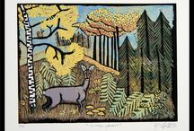 Printmaking by Mariann Johansen-Ellis