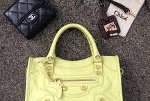 My handbag collection!