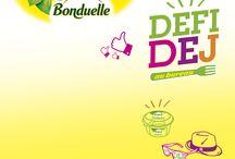 Inspiration Défi Déj' Bonduelle - Very Good Moment / Prêt à relever le défi avec vos collègues ?  Bonduelle s'invite dans votre bureau pour partager un déjeuner fun et convivial !