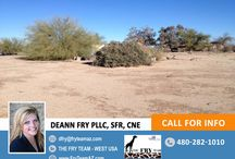SOLD! Opportunity To Have Space And Make Some Money! / 36505 W Jones Ave 0, Tonopah, AZ 85354 | CALL 480-282-1010 or visit us at www.FryTeamAZ.com for more info.