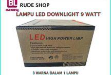 Lampu LED / Kami menjual berbagai jenis lampu LED baik itu lampu neon, bohlam, lampu jalan dan lampu LED lainnya