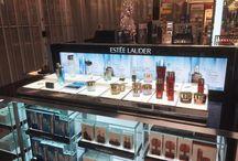 Make-up displays / We are a leading designer of make-up displays for brands such as Chanel, Charlotte Tilbury & Estee Lauder
