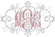 Embroidery/Monograms / by Lorie Turner Stapleton