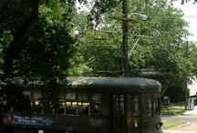 Trenuri, tramvaie și autobuze